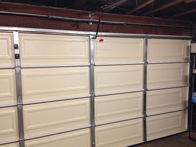 How can I get new garage door without purchasing one?